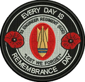 Everyday is Remembrance Day Badge
